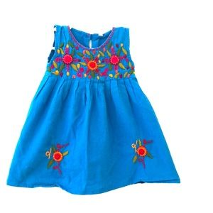 Other - Authentic Mexican embroidered dress